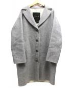MACKINTOSH LONDON(マッキントッシュ ロンドン)の古着「リバーウールコート」|グレー