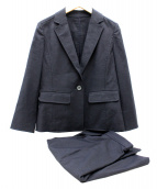 MACKINTOSH PHILOSOPHY(マッキントッシュフィロソフィー)の古着「スカートスーツ」|ブラック