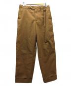 CRAIG GREEN(クレイグ グリーン)の古着「ワイドパンツ」|ブラウン