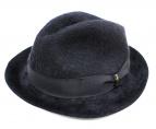 BORSALINO(ボルサリーノ)の古着「ラビットファーリボンハット」|ブラック