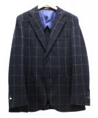 MACKINTOSH PHILOSOPHY(マッキントッシュフィロソフィー)の古着「テーラードジャケット」 ネイビー