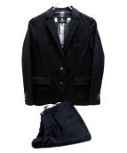 BLACK LABEL CRESTBRIDGE(ブラックレーベルクレストブリッジ)の古着「2Bスーツ」|ブラック