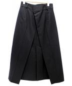 IRENE(アイレネ)の古着「Fold Away Skir」|ブラック