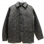 POST OALLS(ポストオーバーオールズ)の古着「キルティングカバーオール」|グレー
