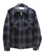 FULL NELSON(フルネルソン)の古着「オリジナルウールCPOジャケット」|ネイビー