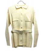 Lois CRAYON(ロイスクレヨン)の古着「ニットジャケット」|アイボリー