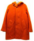 STEVEN ALAN(スティーヴンアラン)の古着「ピリング加工フーデッドコート」 オレンジ