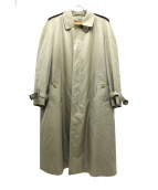 Burberrys(バーバリーズ)の古着「ライナー付ステンカラーコート」|ベージュ