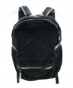 ASSOV(アッソブ)の古着「WATER PROOF SUEDE DAY PACK」 ブラック