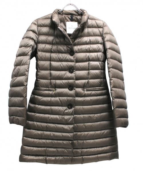 MONCLER(モンクレール)MONCLER (モンクレール) ダウンコート ブラウン サイズ:1 ANJONYの古着・服飾アイテム
