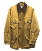 MONITALY(モニタリー)の古着「ミリタリーハーフコートタイプB」|カーキ