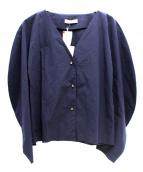 AERON(アーロン)の古着「カラーレスシャツ」|ネイビー