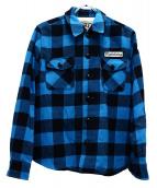 TMT(ティーエムティー)の古着「チェックシャツ」|ブルー