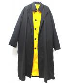 N.HOOLYWOOD(エヌハリウッド)の古着「レイヤードロングコート」|グレー