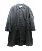 BURBERRY LONDON(バーバリーロンドン)の古着「裏ノヴァチェックライナー付ステンカラーコート」|ブラック