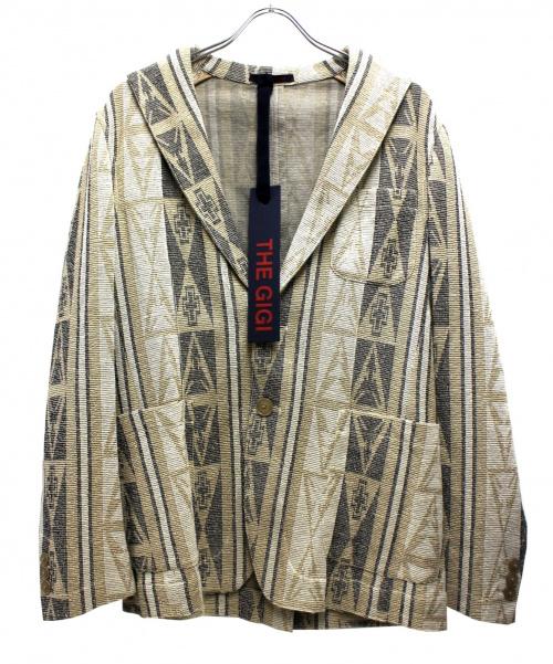 THE GIGI(ザ・ジジ)THE GIGI (ザ・ジジ) ジャケット ベージュ サイズ:48 未使用品の古着・服飾アイテム