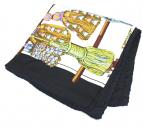 HERMES(エルメス)の古着「スカーフ」|ブラック