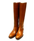 SARTORE(サルトル)の古着「ジョッキーブーツ」 ブラウン