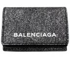 BALENCIAGA(バレンシアガ)の古着「エブリデイミニウォレット」|シルバー