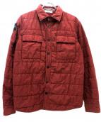 STONE ISLAND(ストーンアイランド)の古着「中綿CPOジャケット」|ボルドー