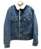 LEVIS(リーバイス)の古着「デニムボアジャケット」|スカイブルー
