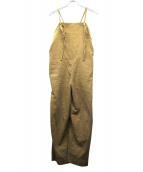 OUTERSUNSET(アウターサンセット)の古着「コーデュロイサロペット」|ベージュ