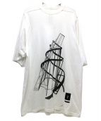 DRKSHDW(ダークシャドウ)の古着「ストラクチャードT」|ホワイト