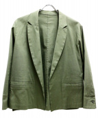 SLOBE IENA(イエナスローブ)の古着「綿麻ツイルジャケット」|カーキ