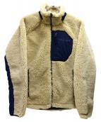 Columbia(コロンビア)の古着「アーチャーリッジジャケット」|ベージュ×ネイビー
