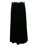 ORIVAR SAT(オリバーサット)の古着「マキシスカート」 ブラック