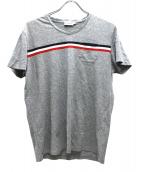 MONCLER(モンクレール)の古着「VネックTシャツ」|グレー