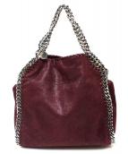 STELLA McCARTNEY(ステラ・マッカートニ)の古着「2WAYバッグ」|ワインレッド