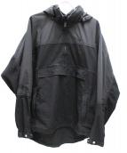 THE NORTHFACE PURPLELABEL(ザノースフェイスパープルレーベル)の古着「インディゴマウンテンウインドプルオーバージャケット」|ブラック