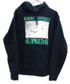 Supreme(シュプリーム)の古着「プルオーバーパーカー」|ネイビー