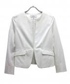 UNTITLED(アンタイトル)の古着「サマーカラーレスジャケット」|ホワイト