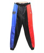 JORDAN(ジョーダン)の古着「ナイロンパンツ」|レッド×ブルー