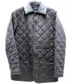 LAVENHAM(ラヴェンハム)の古着「キルティングジャケット」|グレー