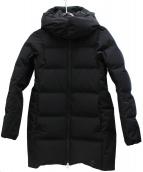 Descente ALLTERRAIN(デサントオルテライン)の古着「水沢ダウンコート」|ブラック