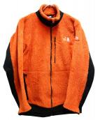 THE NORTH FACE(ザノースフェイス)の古着「バーサエアージップインジャケット」|オレンジ