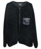bukht(ブフト)の古着「ボアブルゾン」 ブラック