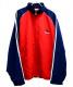 adidas(アディダス)の古着「[古着]90sパフォーマンスロゴ刺繍ジャケット」|レッド×ネイビー