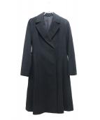 ANAYI(アナイ)の古着「カシミヤベルテッドチェスターコート」|ブラック