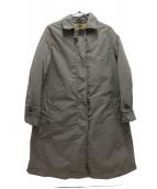 ASPESI(アスペジ)の古着「ライナー付ナイロンコート」|グレー