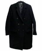 JOHN LAWRENCE SULLIVAN(ジョンローレンスサリバン)の古着「ダブルチェスターコート」|ブラック
