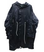 REPRESENT(リプレゼント)の古着「フーデッドコート」|ネイビー