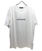 TATRAS(タトラス)の古着「ロゴプリントTシャツ」 ホワイト