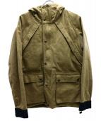 MOMOTARO JEANS(モモタロー ジーンズ)の古着「ヘビーコットンジャケット」|ベージュ