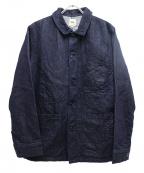 F.O.B FACTORY(エフオービー ファクトリー)の古着「デニムカバーオール」|インディゴ