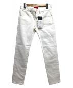 RED CARD(レッドカード)の古着「ホワイトデニムパンツ」|ホワイト
