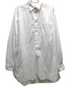 Sans limite(サンリミット)の古着「ロングシャツ」|ホワイト